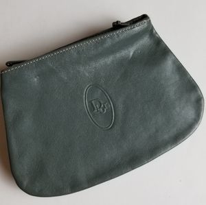 Vintage Christian Dior 3 Compartment Coin Purse
